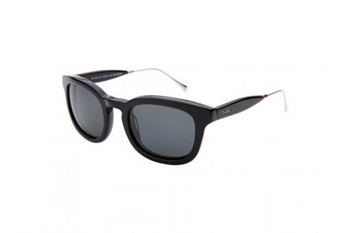 משקפי שמש מבית Cool Ray מסגרת מרובעת בגוון שחור
