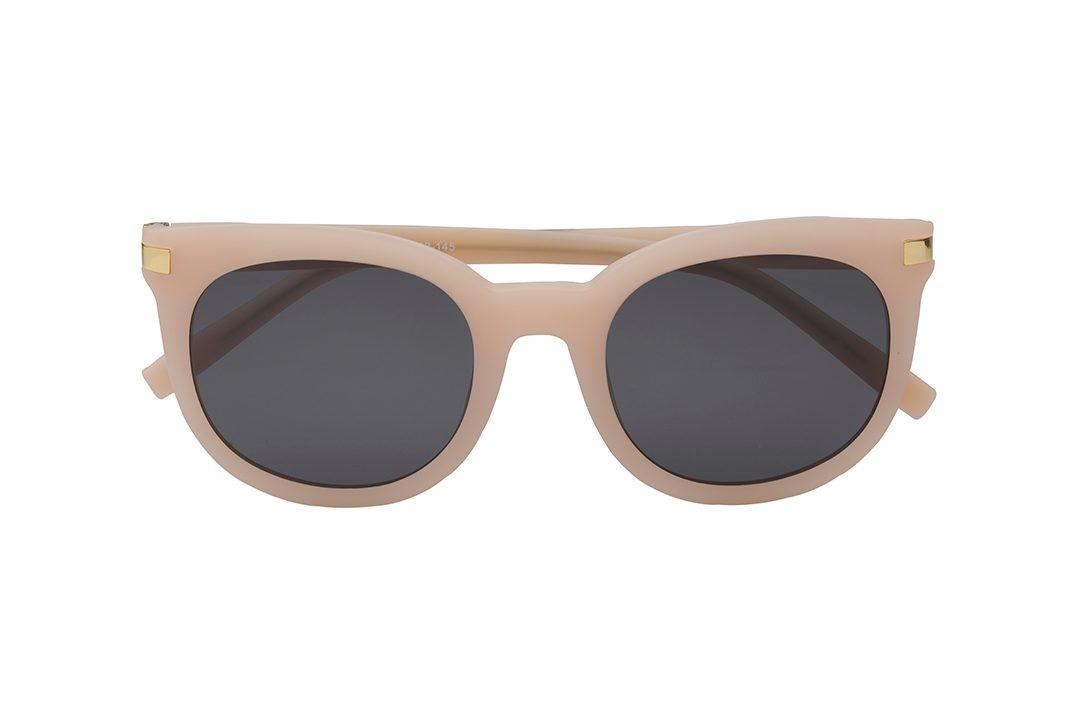 משקפי שמש מבית Cool Ray מסגרת מרובעת בגוון ורוד בהיר