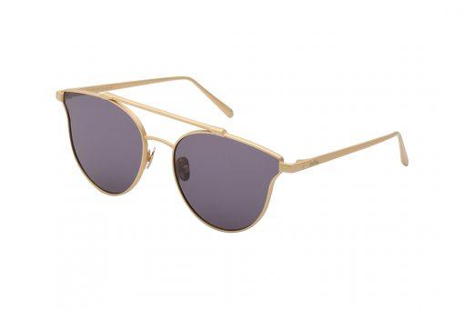 משקפי שמש מבית Cool Ray מסגרת חתולית בגוון זהב