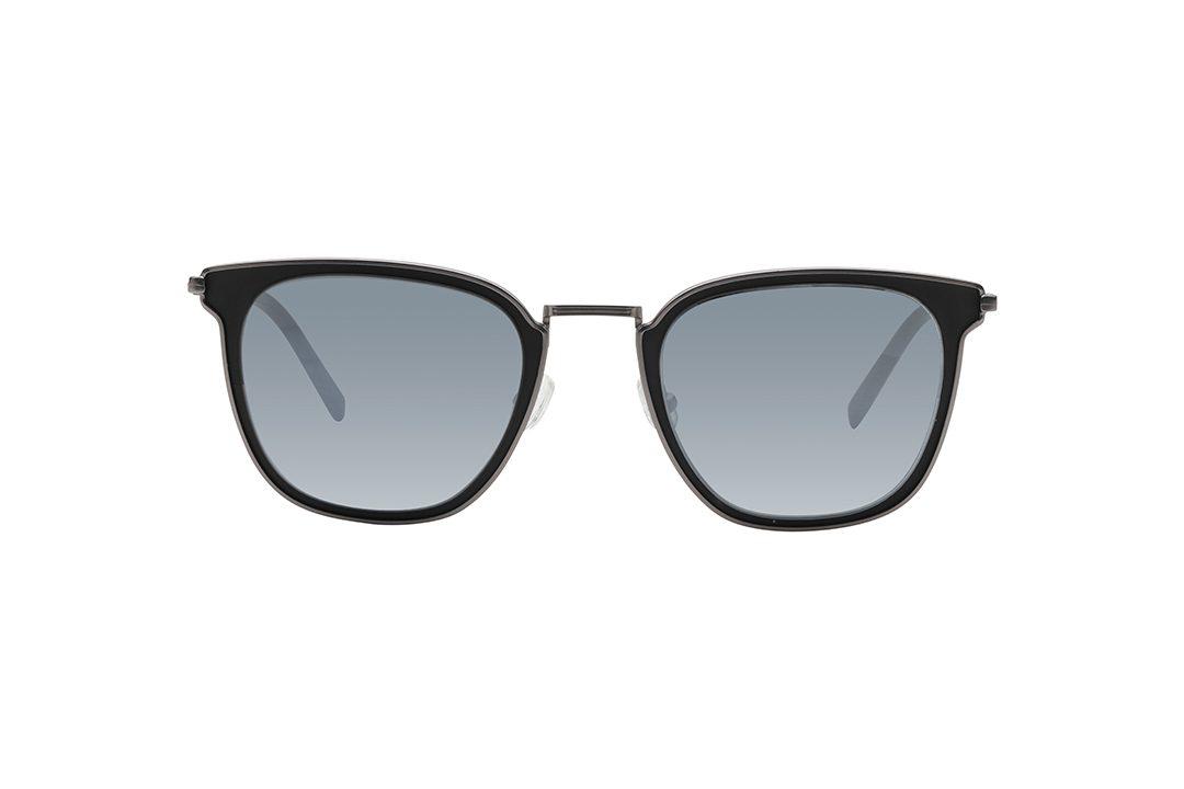 משקפי שמש מבית Cool Ray מסגרת מרובע בגוון שחור - כסף