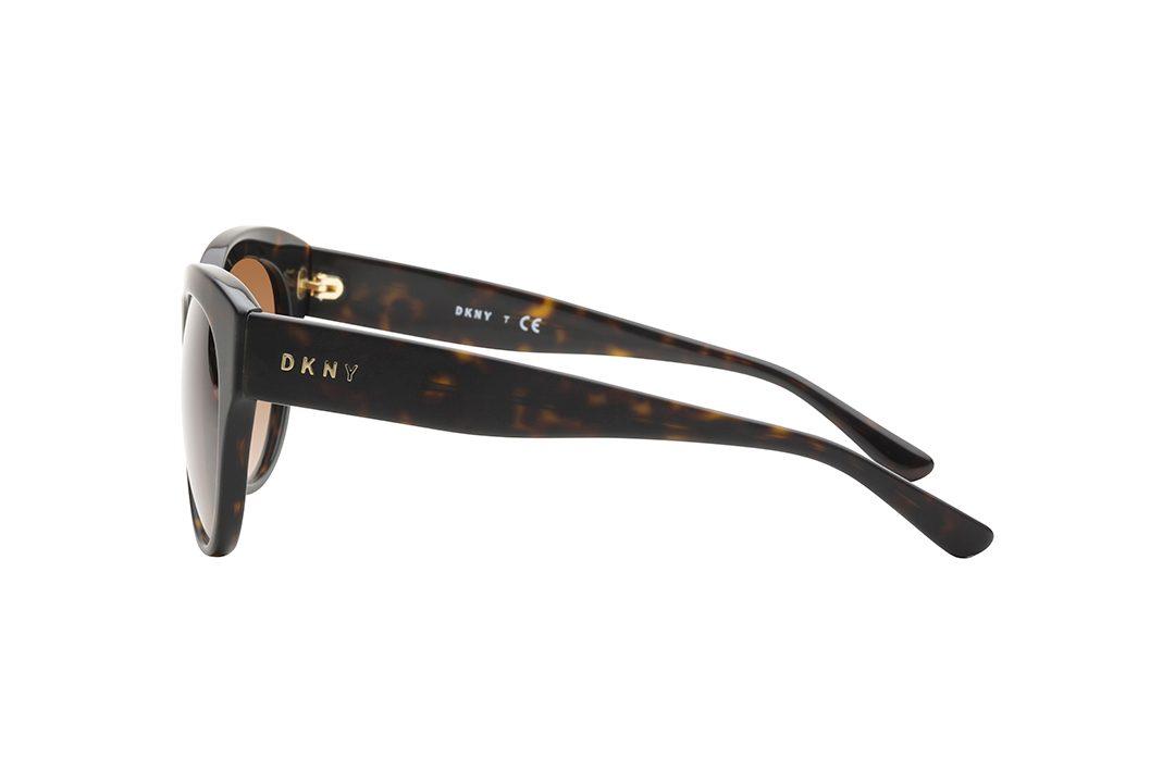 משקפי שמש אובר סייז חתוליים, חזית וזרועות בגוון מנומר כהה, עדשות בכגוון חום
