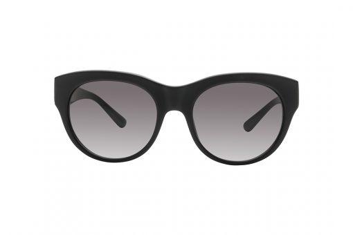 משקפי שמש אובר סייז חתוליים, חזית וזרועות בגוון שחור מט, עדשות בכגוון אפור כהה