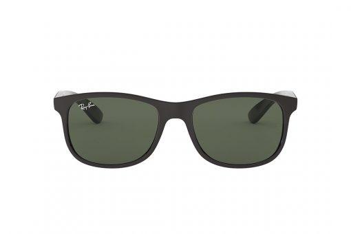 משקפי שמש מבית RAY-BAN בדגם וויפרר קלאסי יוניסקס עם עדשות בגוון ירוק רייבן