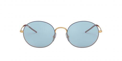 משקפי שמש RAY-BAN בדגם יוניסקס קלאסי עגול עדשות צבעוניות