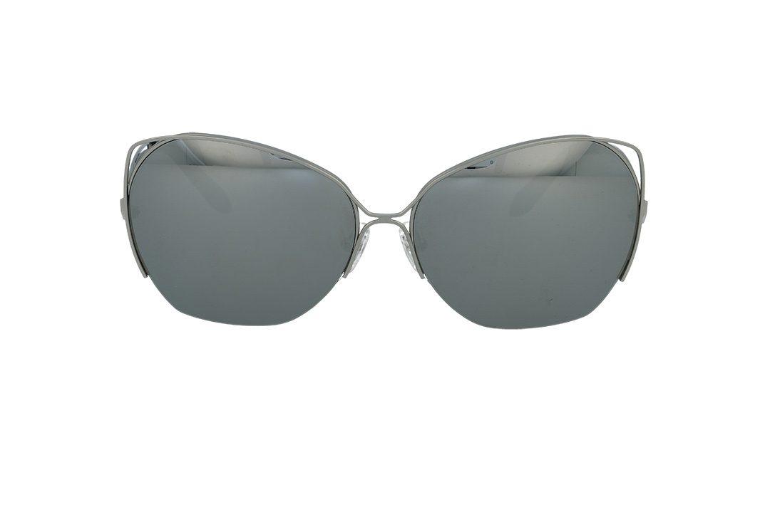 משקפי שמש מבית Cool Ray מסגרת אובר סייז בגוון כסף