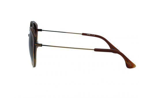 משקפי שמש מבית Cool Ray מסגרת חתולית בגוון חום שקוף