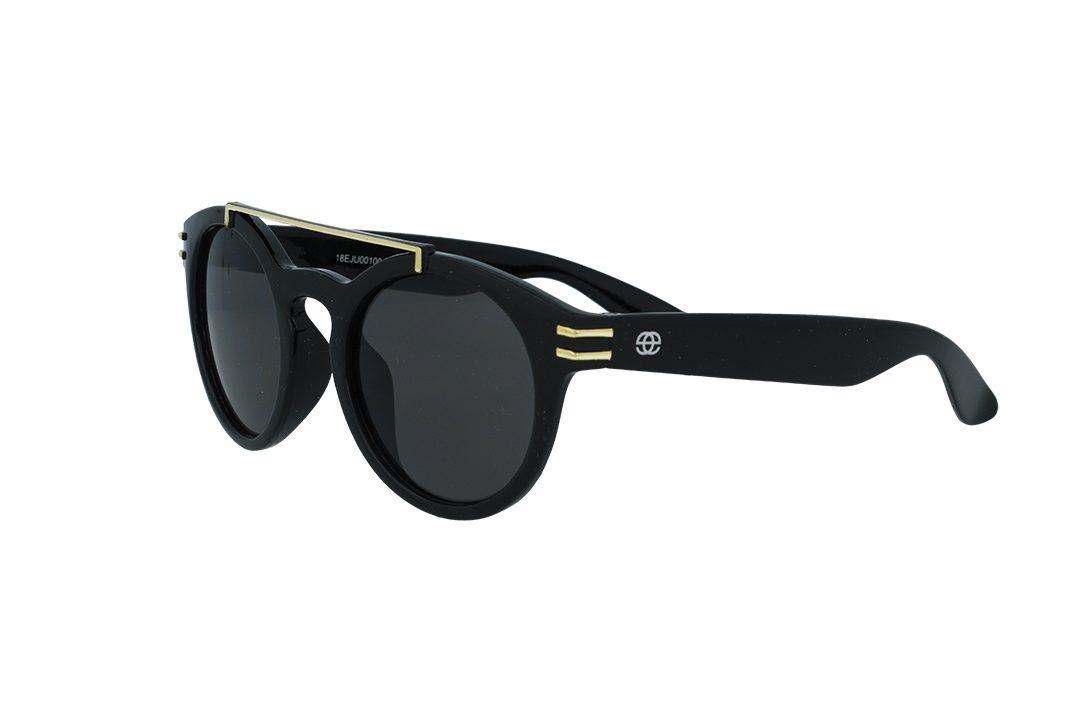 משקפי שמש לילדים מבית Erroca Eyewear בדגם עגול עם גשר אף כפול מתאים לגילאים 0-5