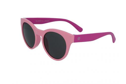 משקפי שמש לילדים מבית Erroca Eyewear בדגם חתולי בגווני ורוד מתאים לגילאים 0-10