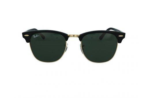 משקפי שמש מבית Ray Ban בדגם קלאב מאסטר האייקוני ועדשות בגוון ירוק