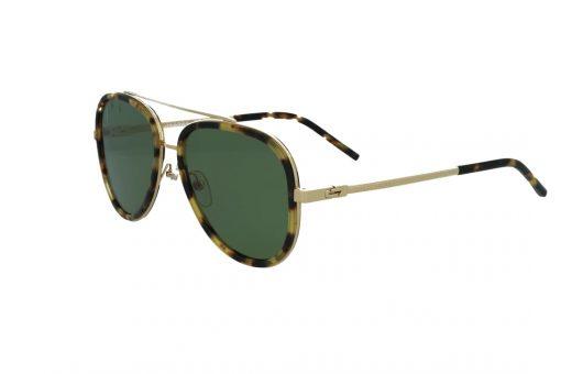 משקפי שמש מבית Marc Jacobs בדגם טייסים נשי קלאסי עם גשר אף כפול ועדשות בגוון ירוק