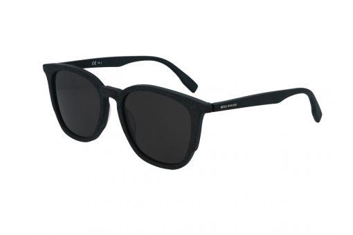 משקפי שמש מבית BOSS ORANGE בדגם גברי מרובע בגוון שחור עם עדשות תואמות