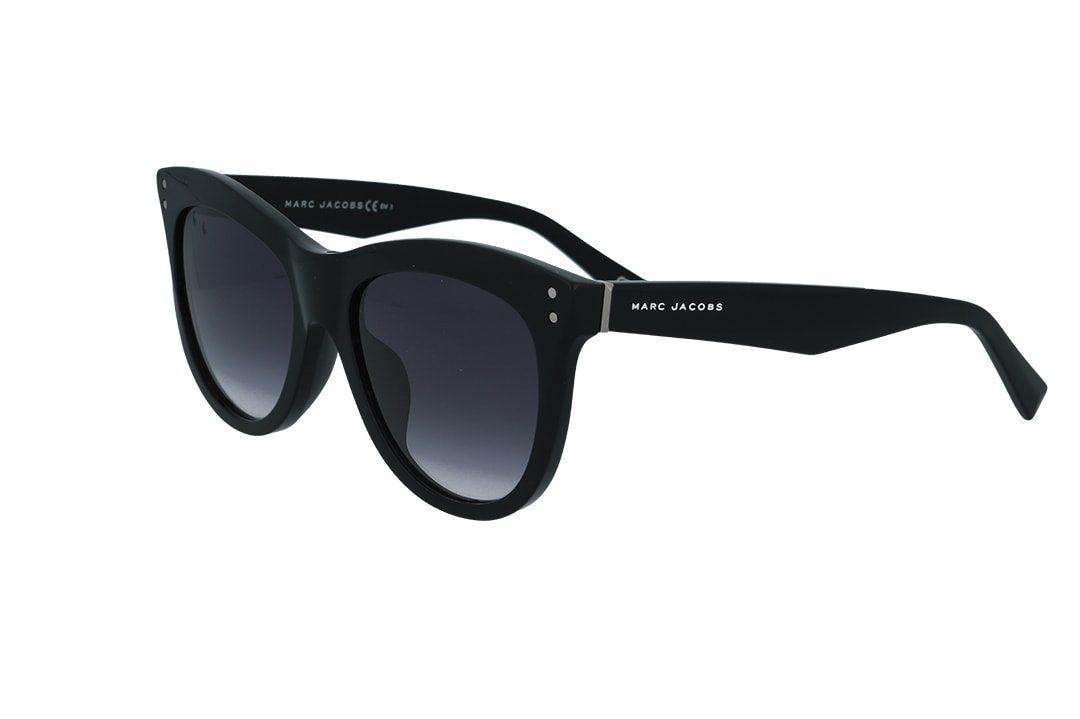משקפי שמש מבית Marc Jacobs בדגם חתולי בגוון שחור ועדשות מדורגות