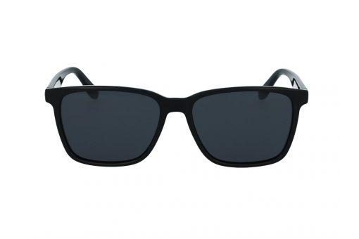 משקפי שמש מבית Tommy Hilfiger בדגם מרובע בגוון שחור ועדשות תואמות