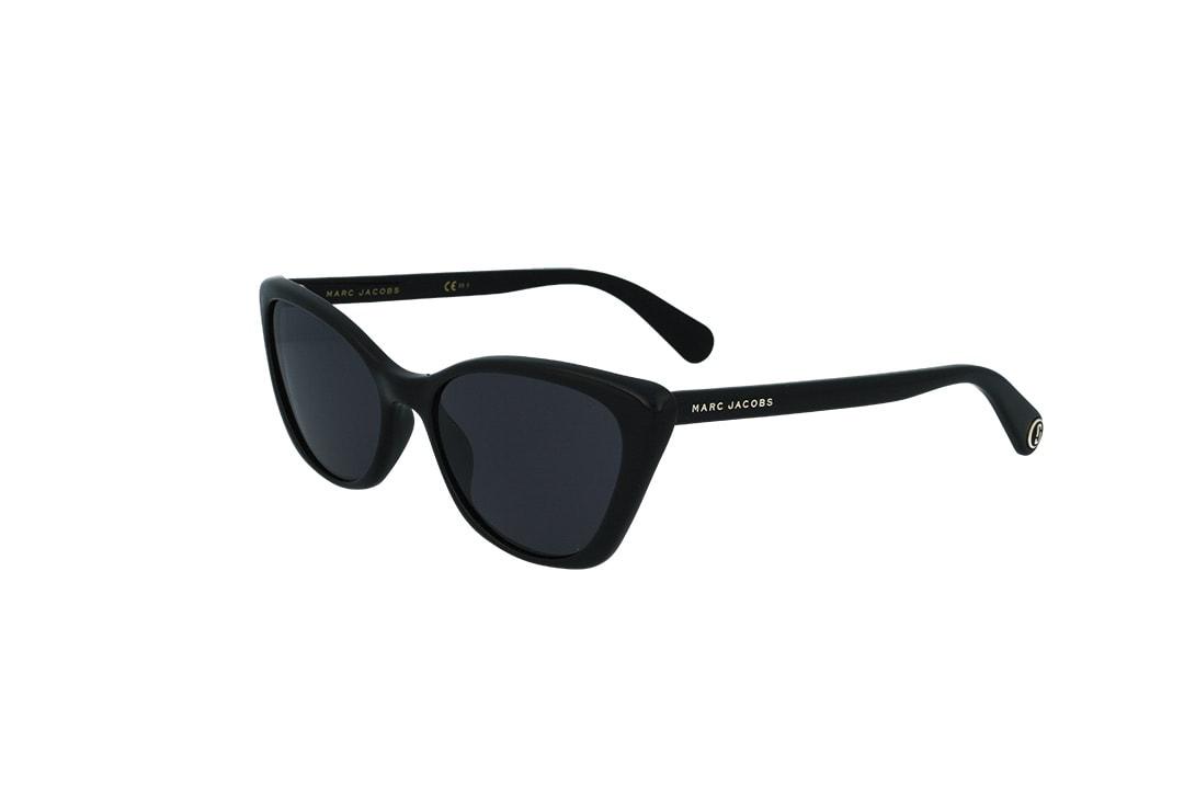 משקפי שמש מבית Marc Jacobs בדגם חתולי בגוון שחור ועדשות כהות