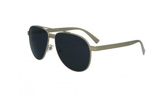משקפי שמש מבית Versace בדגם טייסים בגוון זהוב ועדשות כהות