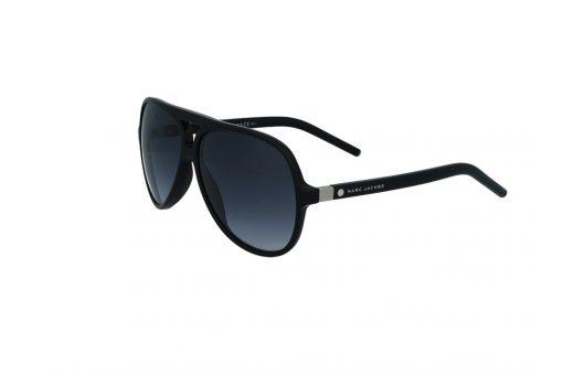 משקפי שמש מבית Marc Jacobs בדגם טייסים גברי בגוון שחור עם גשר אף כפול ועדשות תואמות