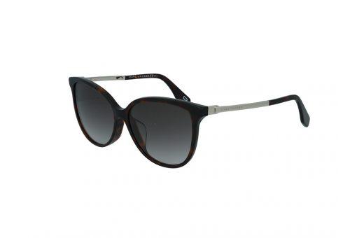 משקפי שמש מבית Marc Jacobs בדגם אובר סייז נשי בגוון מנומר כהה ועדשות תואמות