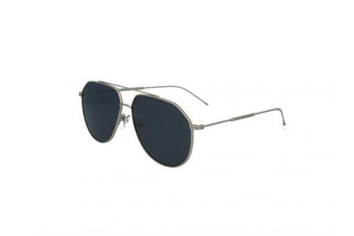 משקפי שמש מבית Tommy Hilfiger בדגם טייסים יוניסקס בגוון כסוף ועדשות כהות