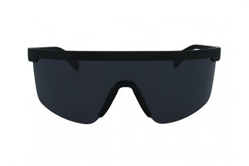 משקפי שמש מבית Tommy Hilfiger בדגם מסיכה בגוון שחור להגנה מקסימלית על העיניים