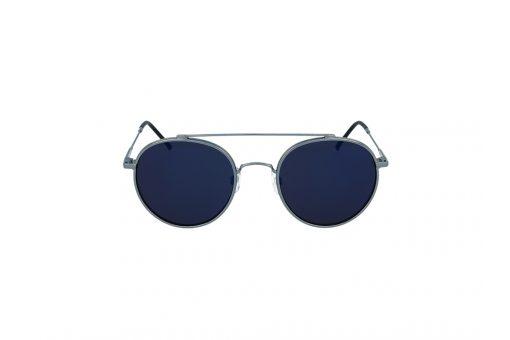 משקפי שמש מבית Cool Ray מסגרת טייסים מעוגלת בגוון כסף