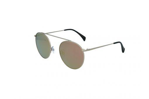 משקפי שמש מבית Cool Ray מסגרת עגולה בגוון כסף