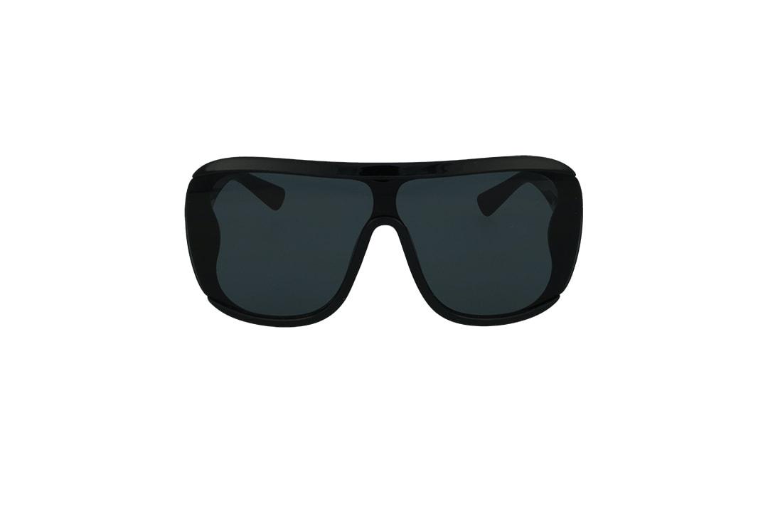 משקפי שמש מבית Cool Ray מסגרת מסכה בגוון שחור