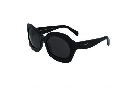משקפי שמש מבית Celine בדגם גיאומטרי בגוון שחור ועדשות כהות