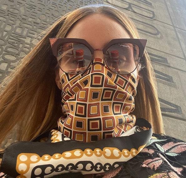 """אוליביה פלמרו עם משקפי FENDI מק""""ט 17FE014901"""