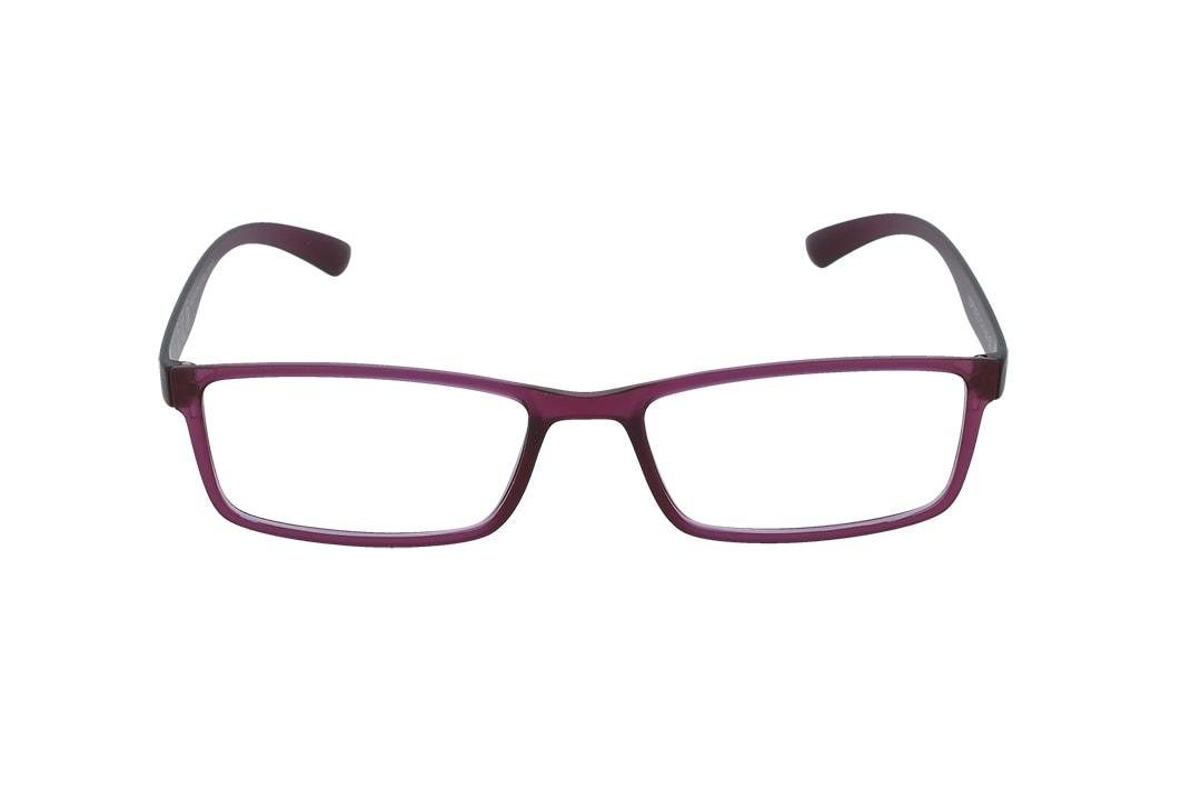 משקפיים מבית ULTEMATE בגוון סגול עם עדשות בלו לייט מסננות את האור הכחול הבוקע מתאורה מלאכותית ומסכים, ובכך מסייעות בהפחתת נזקים בריאותיים, בשיפור איכות-השינה והריכוז. העדשות בעלות גוון צהבהב, המרגיע ומפחית עומס על העיניים. העדשות מגיעות ללא מספר