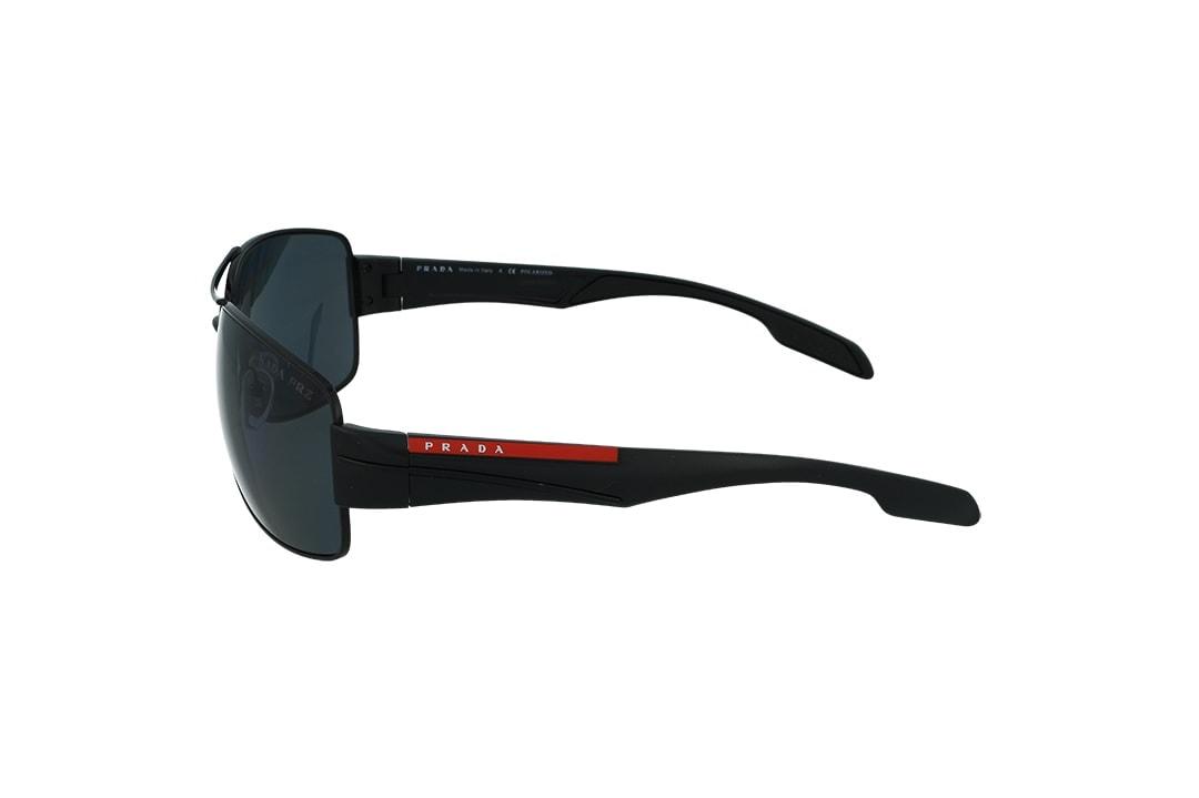 משקפי שמש Prada מסגרת כהה בגוון מרובעת קמורה