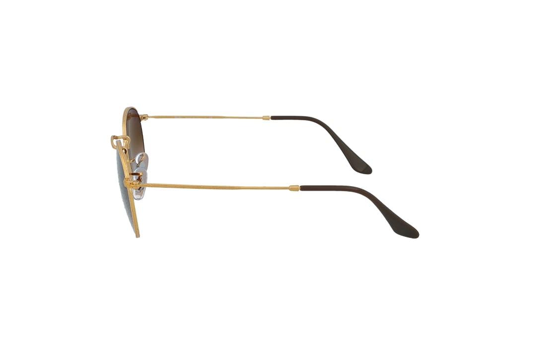 משקפי שמש Ray-Ban מסגרת חום מדורג בגוון עגולה