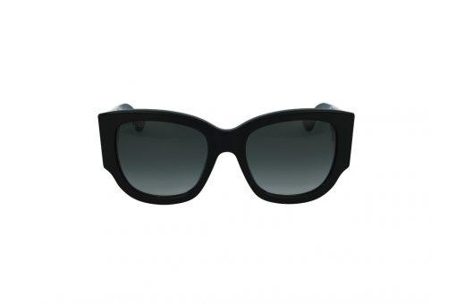 משקפי שמש Gucci מסגרת כהה מדורג בגוון מרובע