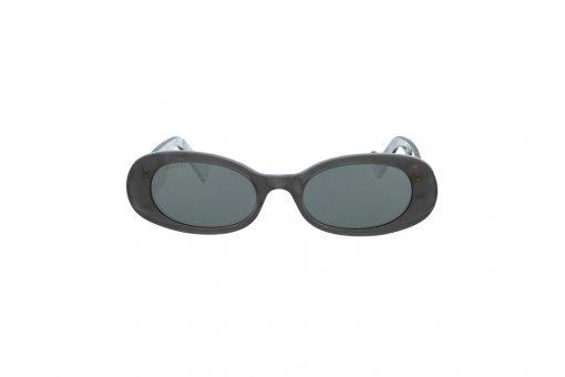 משקפי שמש Gucci מסגרת אפור בגוון מיניסייז אליפסה