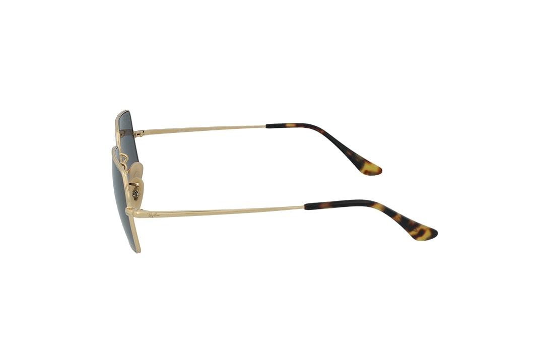 משקפי שמש Ray-Ban מסגרת כהה בגוון מלבנית
