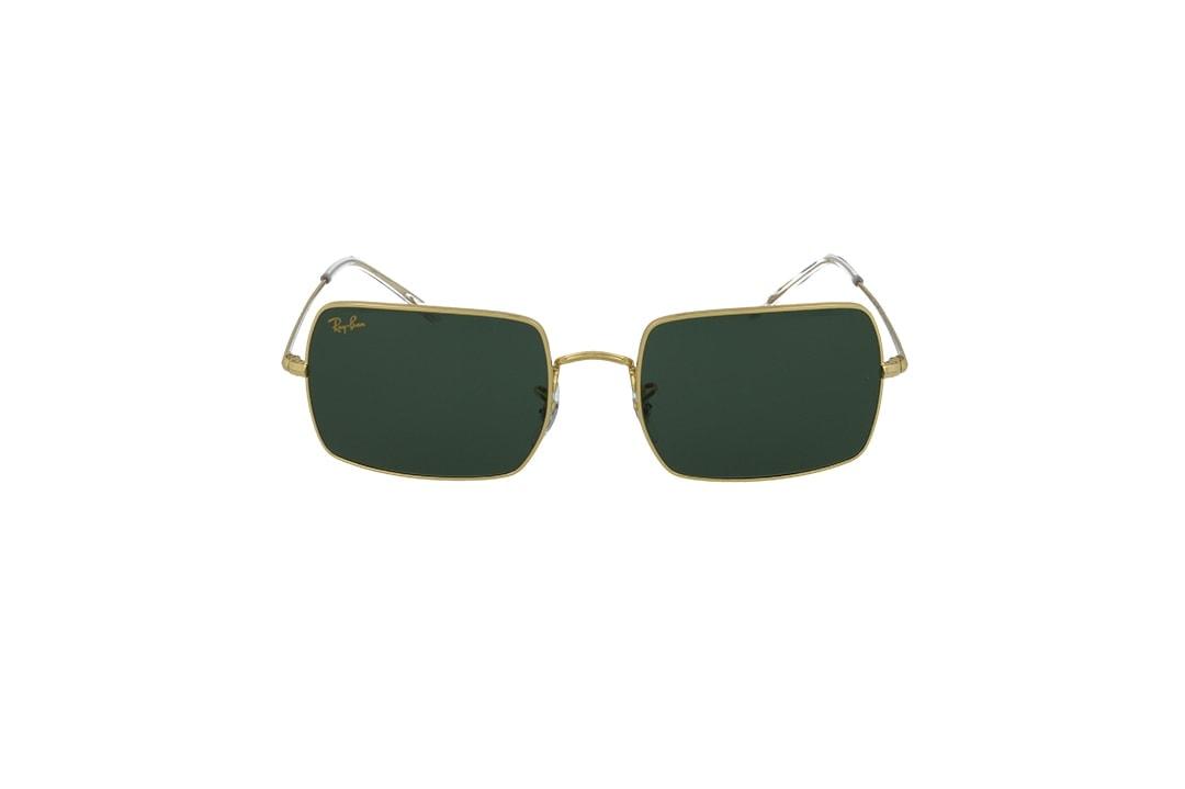 משקפי שמש Ray-Ban מסגרת ירוק בגוון מלבנית