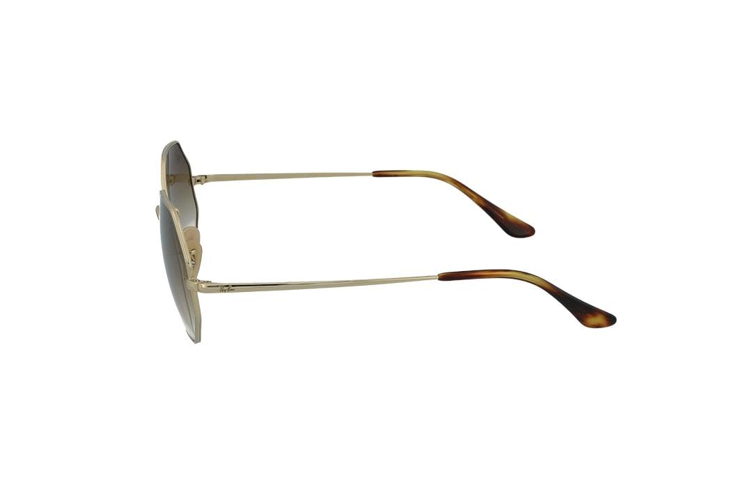 משקפי שמש Ray-Ban מסגרת חום מדורג בגוון גיאומטרית