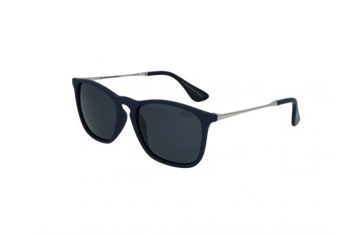 משקפי שמש מבית Cool Ray מסגרת מרובעת בגוון כחול כהה