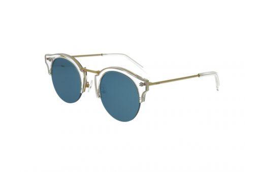משקפי שמש מבית Cool Ray מסגרת חתולית בגוון זהב- שקוף