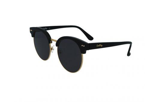 משקפי שמש מבית Cool Ray מסגרת עגולה בגוון שחור - זהב