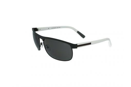 משקפי שמש מבית Cool Ray מסגרת קמורה בגוון שחור - לבן