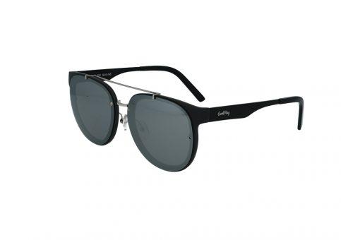 משקפי שמש מבית Cool Ray מסגרת עגולה בגוון שחור - כסף
