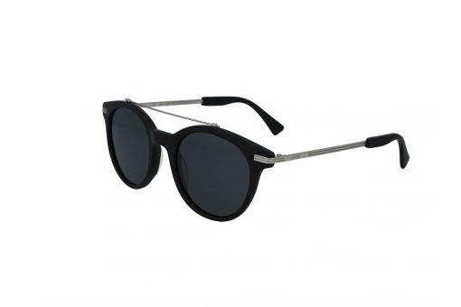 משקפי שמש מבית Cool Ray מסגרת עגולה בגוון שחור כסוף