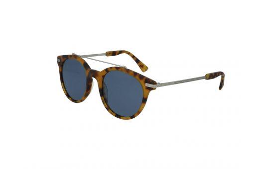 משקפי שמש מבית Cool Ray מסגרת עגולה בגוון מנומר - כסף
