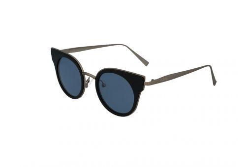 משקפי שמש מבית Cool Ray מסגרת חתולית בגוון שחור - ברונזה
