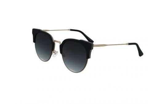 משקפי שמש מבית Cool Ray מסגרת חתולית בגוון זהב - שחור