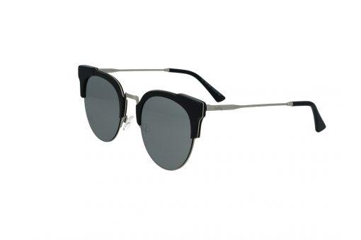 משקפי שמש מבית Cool Ray מסגרת חתולית בגוון כסף- שחור