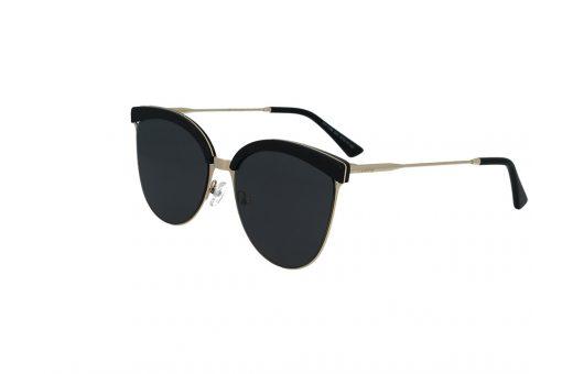 משקפי שמש מבית Cool Ray מסגרת חתולית בגוון זהב- שחור