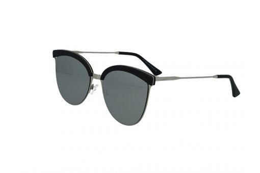 משקפי שמש מבית Cool Ray מסגרת חתולית בגוון כסף -שחור
