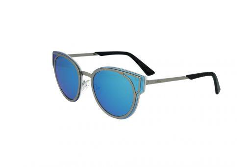 משקפי שמש מבית Cool Ray מסגרת חתולית בגוון כסף - לבן