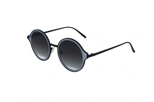 משקפי שמש מבית Cool Ray מסגרת עגולה בגוון שחור- מראה